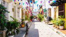 Colombia Cartagena Gade Rejser