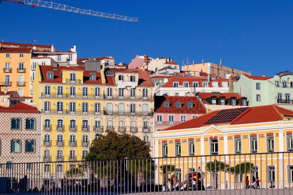 Portugal Lisbon Houses Travel