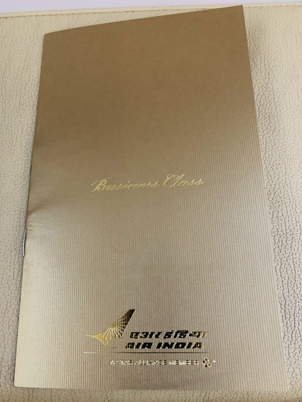 Air India - Fly, menu - rejser