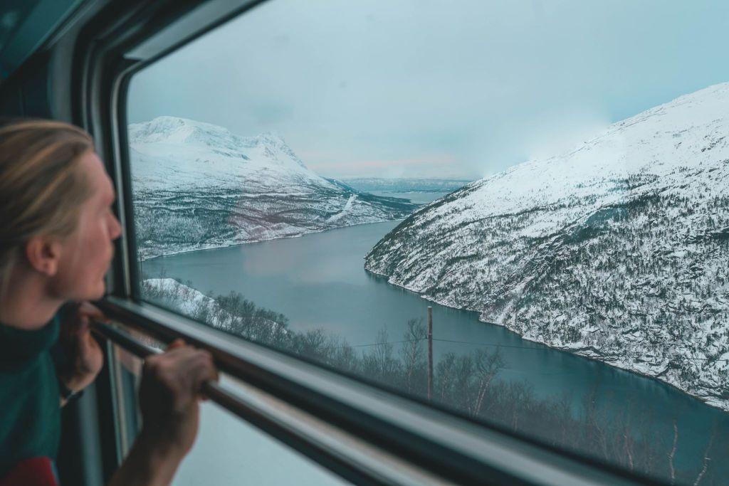 Norge Lapland tog grønrejs rejser togrejse