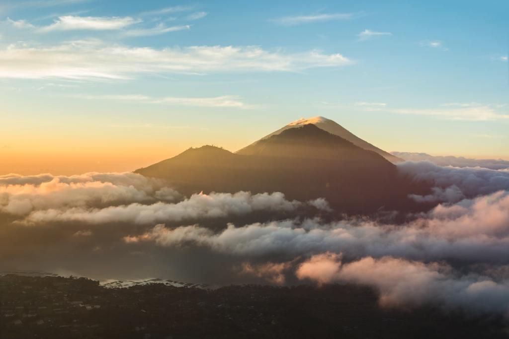 Indonesien Bali batur vulkan rejser - ferie på Bali