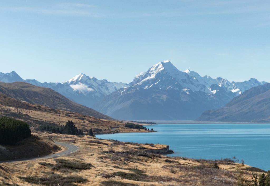 New Zealand - landskab - vand - rejser