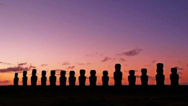 Chile Easter Island Moai statues monument travel