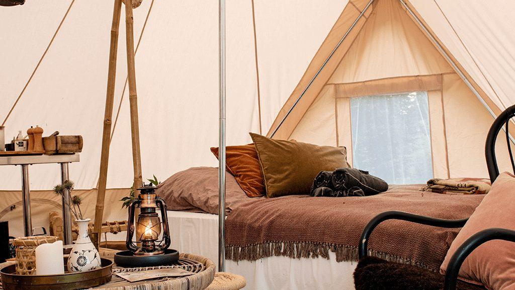 Møn, Camønoen Camp, glamping - reise, overnatting