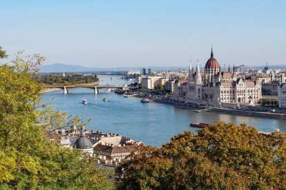 Hungary Budapest Szechenyi thermal baths travel