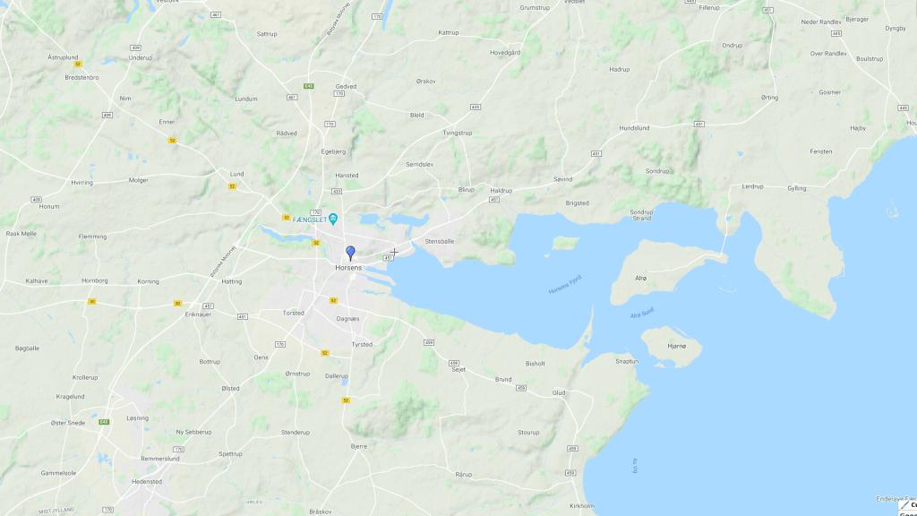 Map - Horsens Rejser
