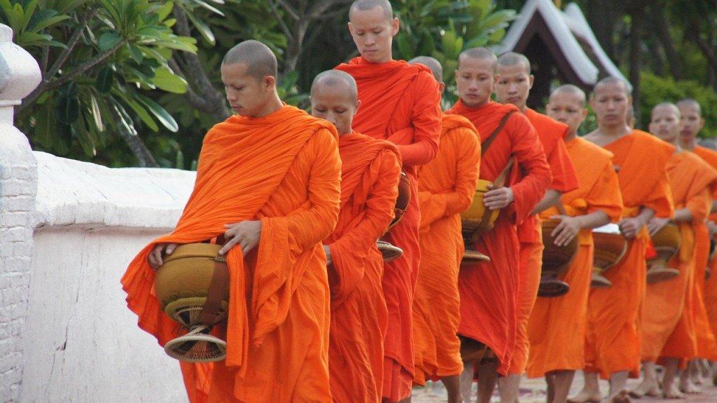 Laos - religiøs - munke - rejser