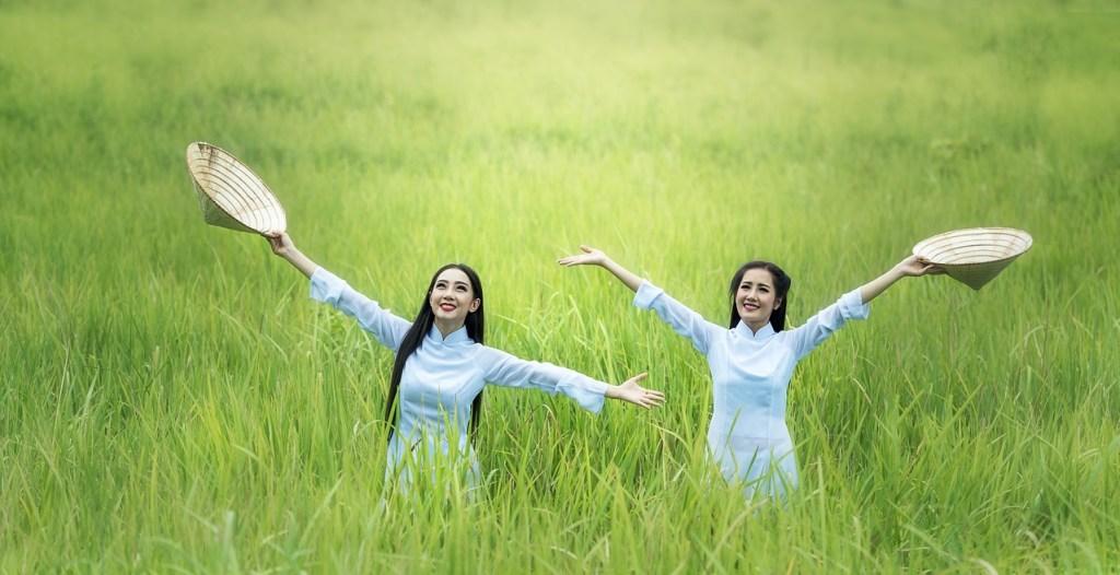 Kvinder, glæde, mark - rejser