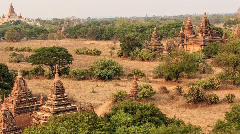Bagan - Myanmar - templer - natur - - himmel - rejser
