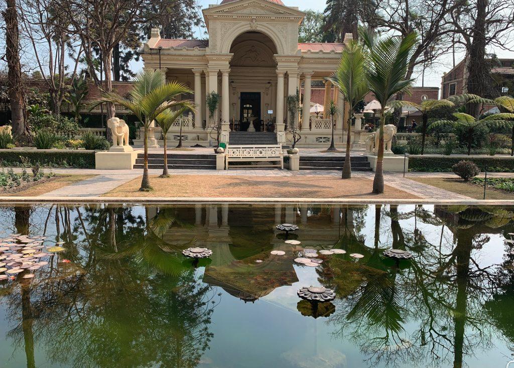 Nepal - Asien - palads - have - vand - palmer - rejser