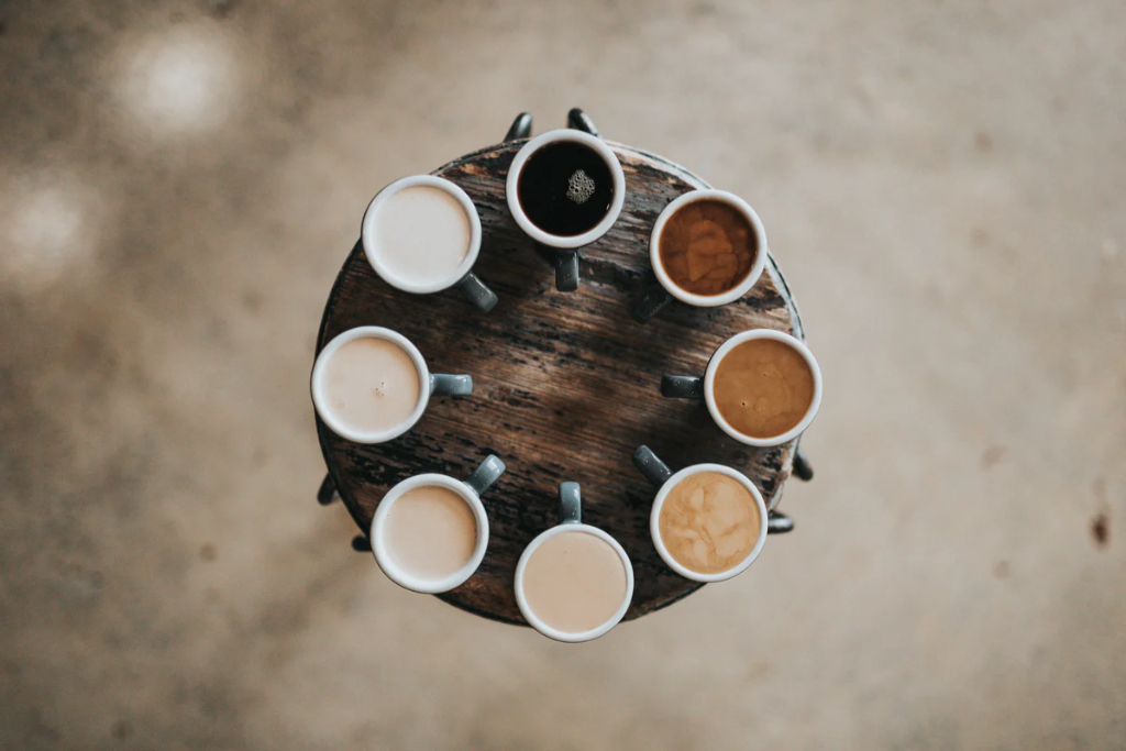 Denmark, 7 cool coffee places, coffee gradient travel