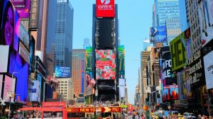 USA - New York, Times Square - rejser