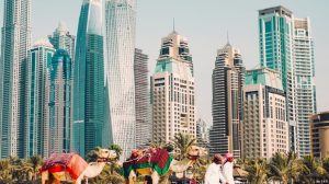 Dubai, United Arab Emirates, skyline