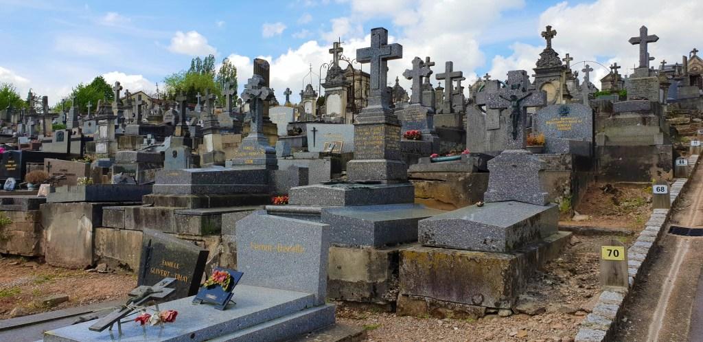 Eva i Malte - Kapela sv. Groblje Michels - groblje - Epinal - Francuska, kuća na točkovima - putovanje