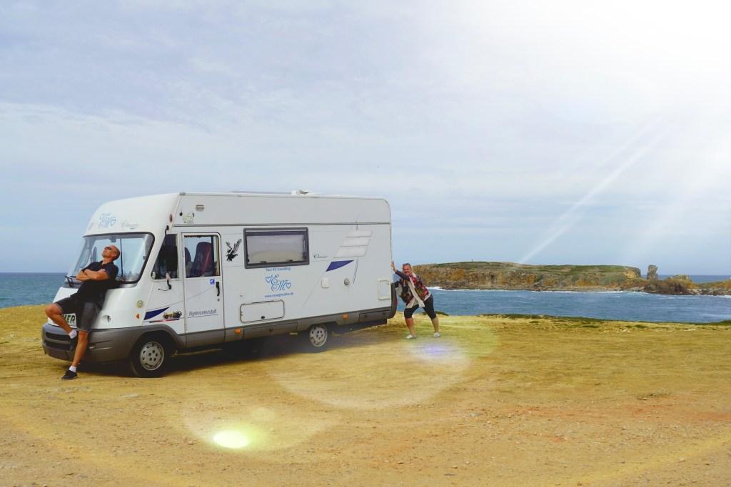 Eva i Malte - kuća na točkovima - odmor na samostalni pogon - putovanje