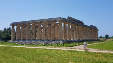 Italy - Paestum, Europe, (Eva and Mathes picture) - travel