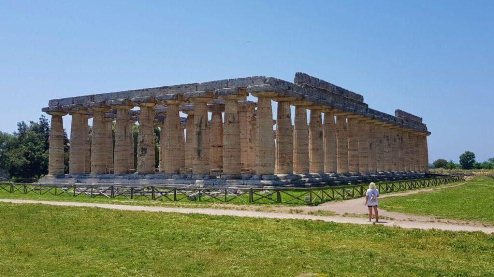 Italia - Paestum, Europa, (Eva og Mathes bilde) - reise