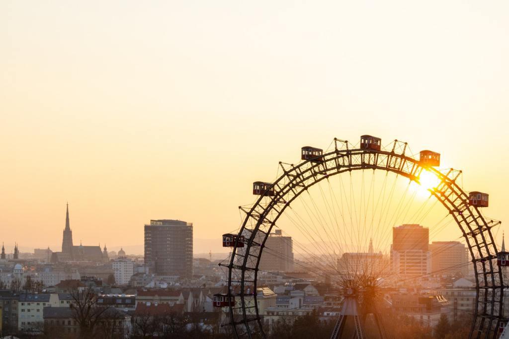 Wien - Østrig - prater - pariserhjul - wienerschnitzel - rejser