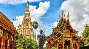 Thailand, monument, tempel, reise, Asia