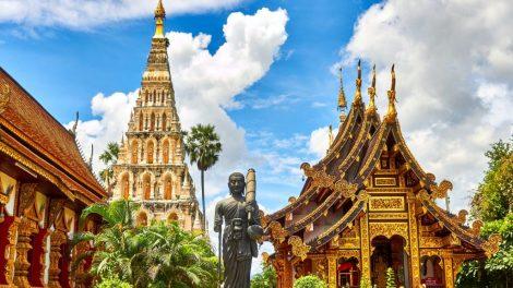 Thailand, monument, temple, travel, asia