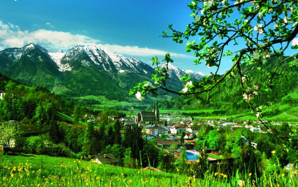Austria, salzbrugerland, St. Johann im Salzburg, Pongauer Dom, paglalakbay