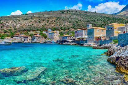 Peloponneso, Tolo, Grecia, mare, acqua, baia, porto, villaggio di pescatori, viaggio vitus, offerte di viaggio, viaggio