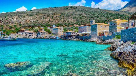 Peloponnes, Tolo, Grækenland, hav, vand, bugt, havn, fiskerby, vitus rejser, rejsetilbud, rejser