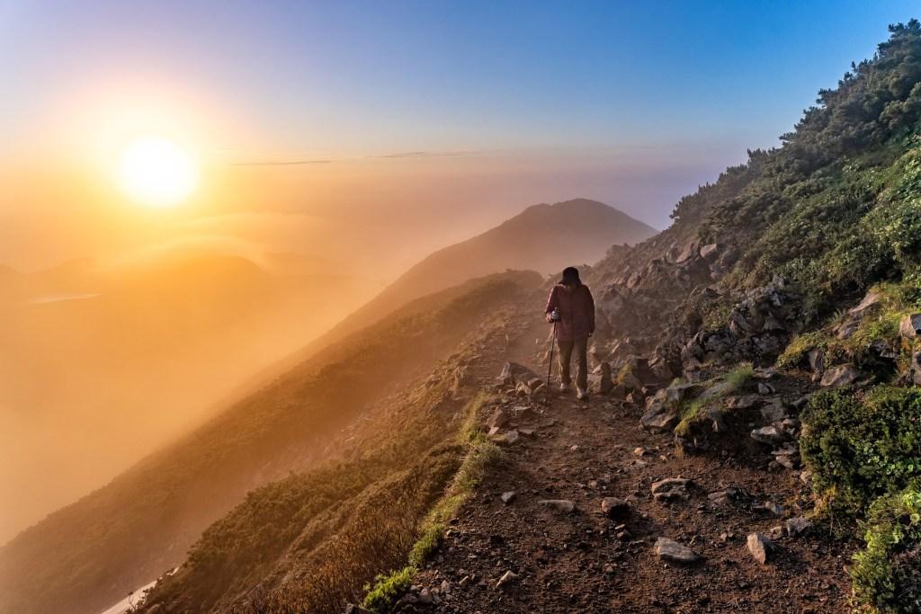 Japan, solnedgang, vandre, bjerge, natur, rejser, UNESCO naturarv