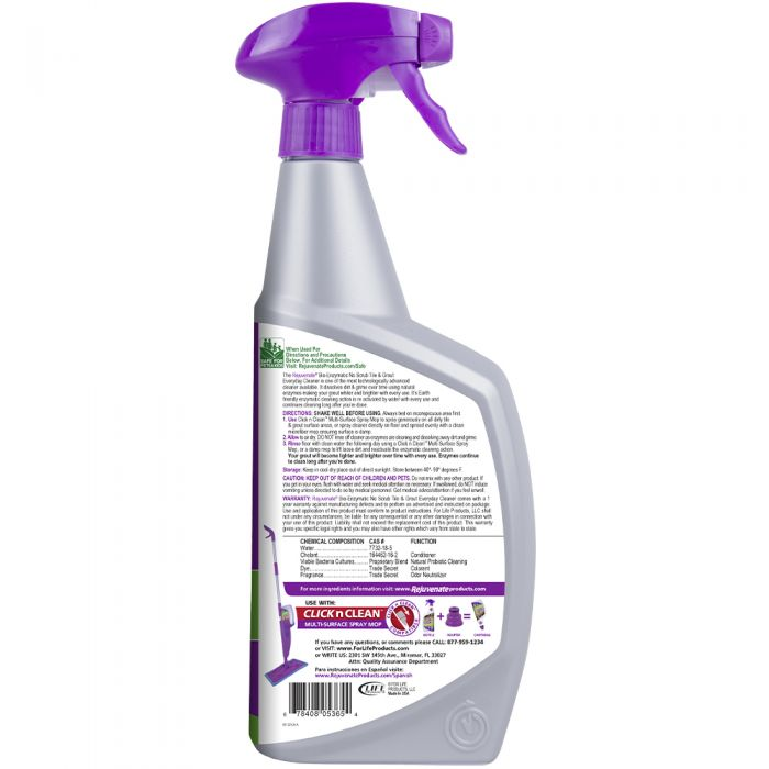 rejuvenate bio enzymatic tile and grout cleaner