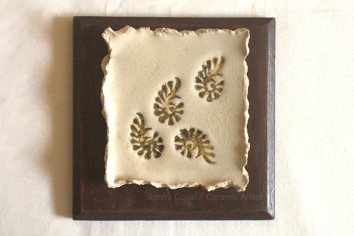 Make your own Ceramic Wall Art!  Rekha Goyal