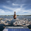 Red Bull Cliff Diving World Series 2014: Spektakul?rt stupeshow i solfylte Krager?