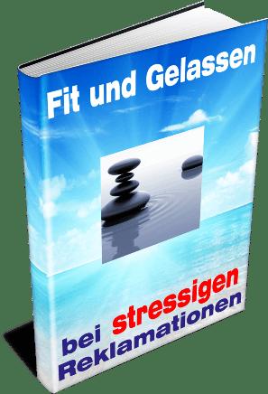 EBook-Cover Fit und Gelassen bei stressigen Reklamationen
