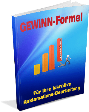EBook-Cover die Gewinn-Formel bei der Reklamations-Behandlung