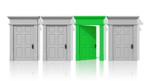 Die richtige Tür nehmen – gekonnt Chancen nutzen