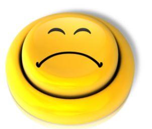 Button Negativ - Sie fühlen sich unsicher diplomatisch schlagfertig