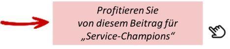 Abruf Beiträge Service-Champion in der Reklamations-Behandlung