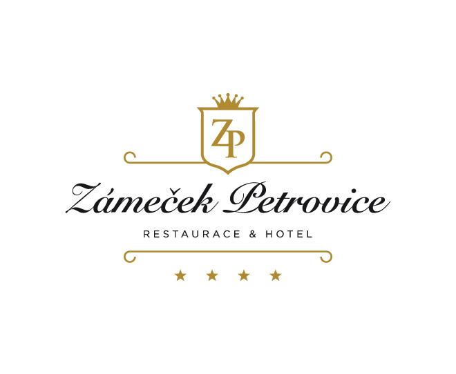 Logotyp a základní grafický manuál pro Zámeček Petrovice