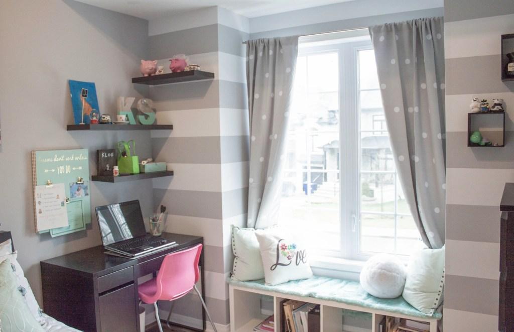 Neutral Pre-Teen Bedroom – Winter 2016