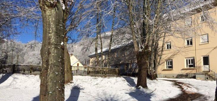 Le Pradau en hiver