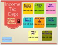 Income Tax Helpline Toll Free Contact Phone Numbers ...