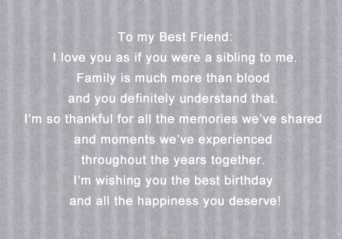 BEST FRIEND BIRTHDAY QUOTES TUMBLR image quotes at