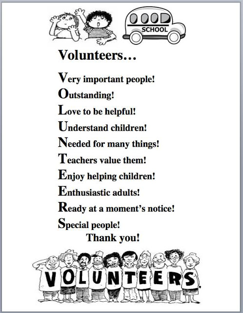 VOLUNTEER APPRECIATION QUOTES POEMS image quotes at