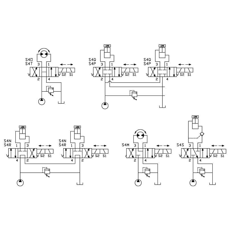 4W3P Spool Valves • Related Fluid Power