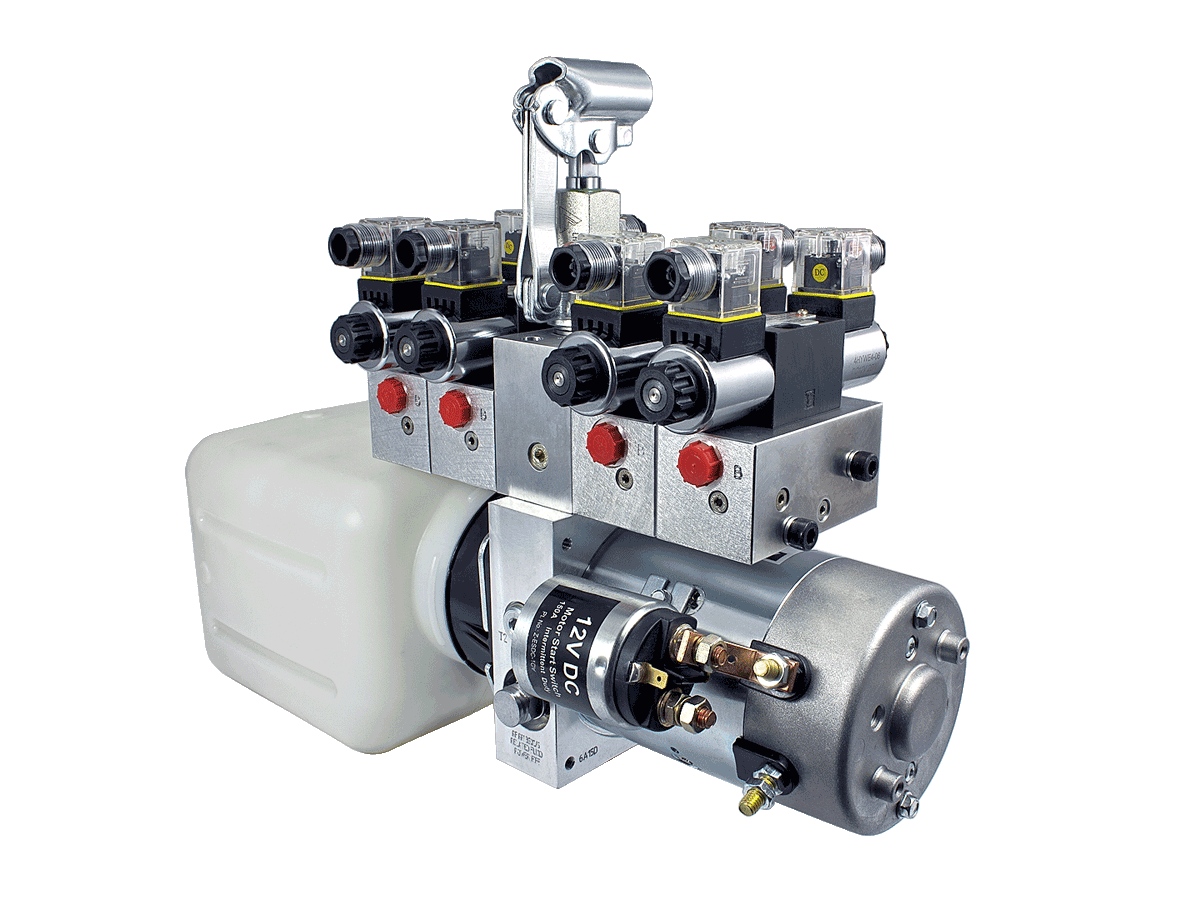 hight resolution of hydraulic power pack
