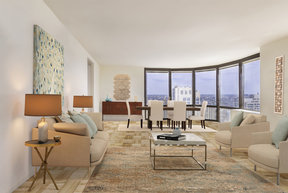 Grand Layouts With Floor To Ceiling Windows Feature Stunning City Views