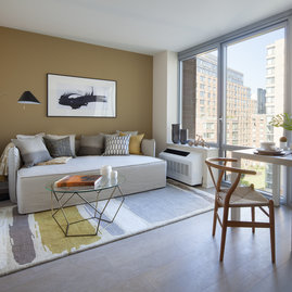 Floor To Ceiling Windows With Sweeping Views Of The Hudson River Roosevelt Island