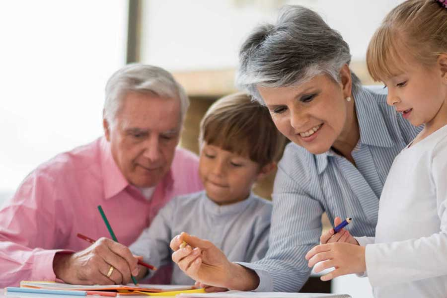 Grandparent Childcare - Relationship Development and ...