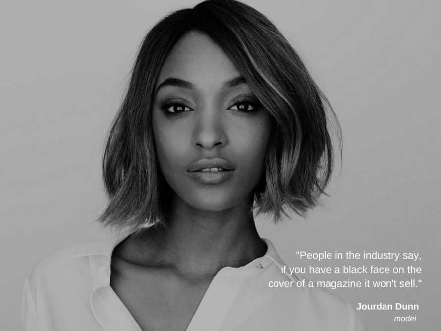 Jourdan Dunn-Quote-Black Woman-Dating-Love-Beautiful-color