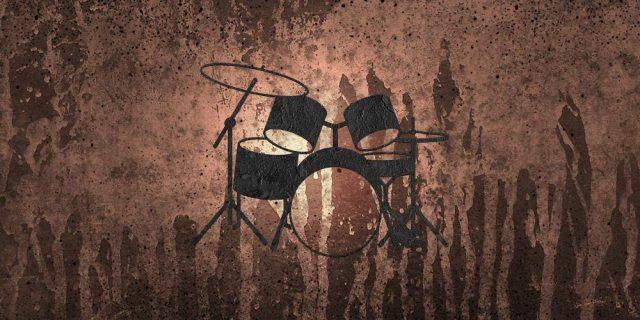 Portfolio - Drum Set - brown