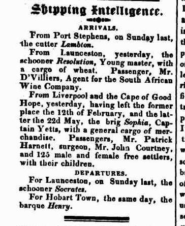 The Murray Family of Limerick, Ireland and New South Wales